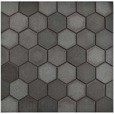 merola tile structure due hex black in x 12 in x 8 mm natural lava stone mosaic tile blacklow sheen