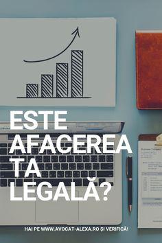 Ai o idee de afacere extraordinară, ai început să o promovezi, ai început să abordezi posibili clienți și totul merge bine. Felicitări! 🎖️ Dar ai acordat atenție și părții legale a afacerii tale?🤔 Ai o afacere legală?👁🗨