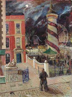 The fair, Carel Weight. English (1908 - 1997)