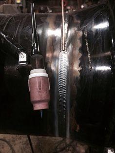 ◆ Visit ~ MACHINE Shop Café ◆ (Beautiful Tube-Steel TIG Welds)