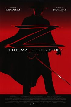 The Mask of Zorro. My 1st MAJOR obsession circa 2001. I was 11. This started it all...