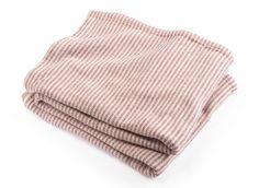 Cozy Cotton Ticking Stripe Blanket – COCO VIVO