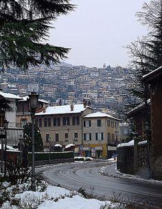 Winter in Cernobbio, Como, Lombardy, Italy
