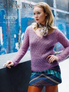 Fancy by Erika Knight, another free pattern from Rowan Yarns