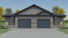 The Westin  Type: Semi-detached bungalow Size: 1440 sq. ft. (Finished living space in basement) 2 bedrooms / 1 bathroom / 1 car garage