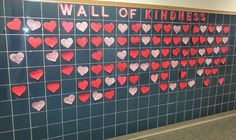 Kids catch each other bring nice or kind. Turn into office and gets posted. Kindness Bulletin Board, Bulletin Boards, Wall Of Kindness, Kindness Challenge, Education Sites, Behavior Interventions, Leader In Me, Positive Behavior, Random Acts
