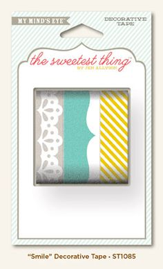 """{ my mind's eye } - The Sweetest Thing """"Smile"""" Tape #StudioCalicoPinToWin"""