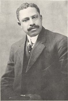 John Merrick (September 7, 1859 - August 6, 1919) was a Durham NC businessman who invested the profits from his eight barbershops in real estate was a founder of North Carolina Mutual Life Insurance Company which at his death was the largest black-owned insurance company in the nation. He was instrumenal in founding the Mechanics and Farmers Bank, NCCU, Lincoln Hospital and a library for the black Durham community. #TodayInBlackHistory
