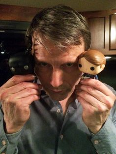 We've got Funko dolls on the brain. #Hannibal. Source: nbchannibal.tumblr