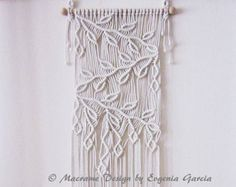 Macrame Lamp Shade f