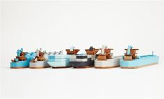ebabee likes:Wooden toy boats and ships
