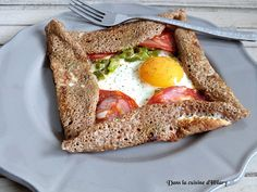 Buckwheat Crepes, French Crepes, Crepe Recipes, Chorizo, Stuffed Green Peppers, Entrees, Good Food, Brunch, Tasty