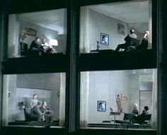 Playtime directed by Jacques Tati