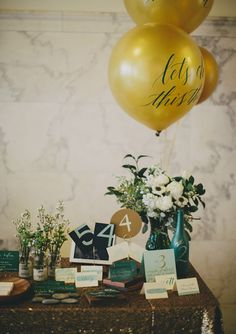 pretty calligraphy | photo by Rad and in Love | 100 Layer Cake