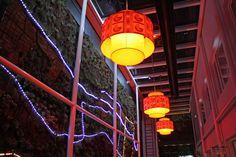 Hotel años 50 en la Zona G Bogota Colombia. Hotels, Table Lamp, Neon Signs, Boutique, Paper, Home Decor, Home, Bogota Colombia, Walls