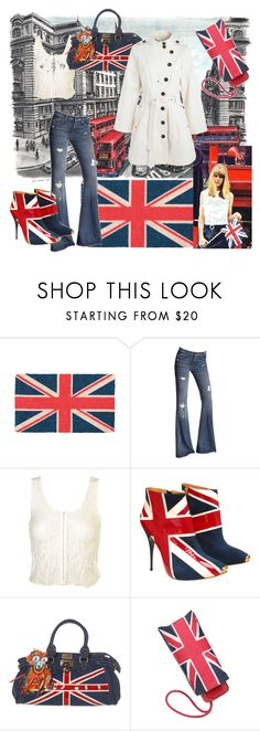 """Jenny Boyd"" by shellynu ❤ liked on Polyvore featuring HallWay, 7 For All Mankind, Paul's Boutique, Star by Julien Macdonald, Red Herring, jenny boyd and union jack"