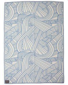 Indigofera Graphic Pattern Blanket