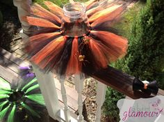 Hey, I found this really awesome Etsy listing at https://www.etsy.com/listing/206473182/halloween-tutu-matching-hair-bow