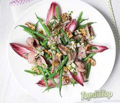 Salade de bifteck au bleu