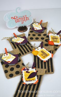 September Paper Pumpkin - A different take on this month's kit from Stampin' Up!