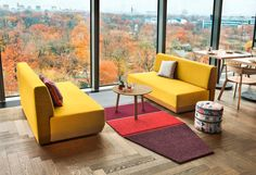 werner aisslinger creates modular carpets with elementary shapes for vorwerk