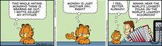 Garfield Comic Strip, November 21, 2016     on GoComics.com