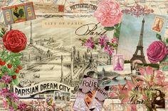 винтажные коллажи-Самые красивые города мира. Обсуждение на LiveInternet - Российский Сервис Онлайн-Дневников