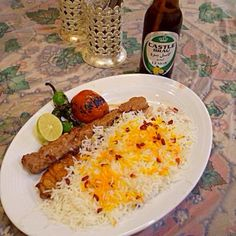 #isfahan #iran - 1件のもぐもぐ - Kebab, Rice by maixx ใหม่