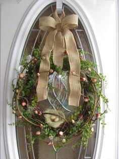 Spring Wreath Berry Wreath Summer Wreath by DoorWreathsByDesign