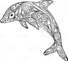 Image result for dolphin outline