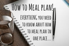 Have you ever wondered how to meal plan your meals for your family? Here's a great place to start if you have!