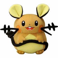 Dedenne Pokemon Plush Doll