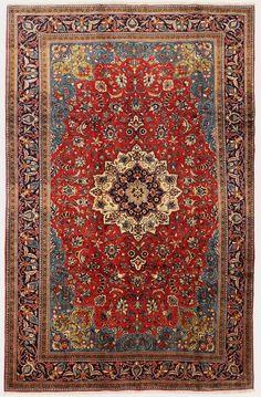 Persian Qum rug, kork wool