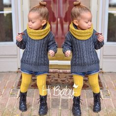 A Touch of Yellow | Kids fashion...Yes even if it is kids fashion....I would SO wear this!!                                                                                                                                                      More