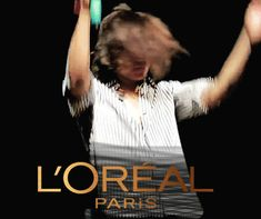 Harry Styles | L'OREAL (GIF)>>>why did I laugh so hard