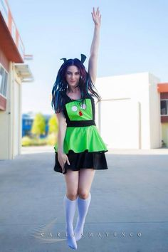 Gir dress from Invader Zim, worn by by The Artful Dodger