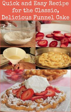 Quick and Easy Recipe for the Classic, Delicious Funnel Cake
