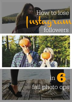 No Instagram feed is safe from PDA (Public Displays of Autumn)