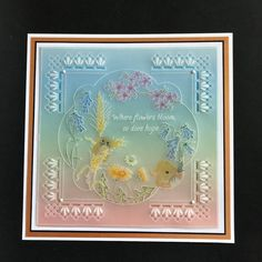 Hope you can join Linda for her two remaining shows at & Excellent demo this morning, I will no longer have to wing it ( no pun intended 😄). Parchment Cards, Craft Cards, Paper Cards, Hobbies And Crafts, Holiday Cards, Wild Flowers, Stamping, Card Ideas, Projects To Try