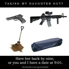 Dating my daughter?