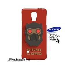Star Lord Superhero Samsung Galaxy Note 4 Case