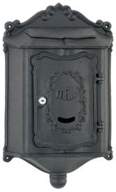 Residential Mailboxes - Locking Wall Mount Colonial Mailbox Stand, Wall Mount Mailbox, Mounted Mailbox, Black Mailbox, Modern Mailbox, Mailbox On House, Cluster Mailboxes, Residential Mailboxes, Letters