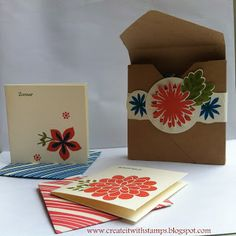 Stampin'Up! Flower Patch 2