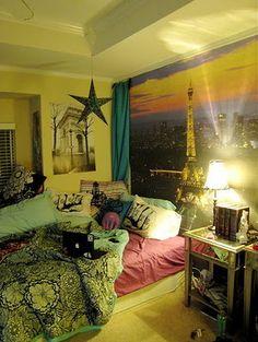 Manual dos 16: Decoração de quarto inspirado em Paris meu sonho no meu quarto