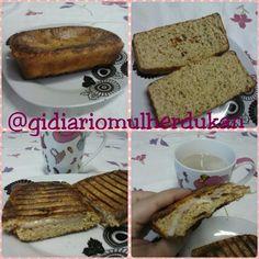 Diário de Mulher: Receita Pão Dukan Assado