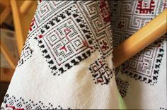 NEW HANDMADE EMBROIDERED TOWEL   UKRAINIAN RUSHNIK   Completely handmade  Rushniks are traditional East Slavic Towels, often decorated with the ornamental pattern. Decorated rushniks are used for ceremonial events. An example of their use would be a host offering his guests bread and salt, which would then be served on a rushnik. Rushniks are also used at religious services, funerals, and other social functions. On each rushnik, there is a decorative pattern, an ornament. The ornaments are…