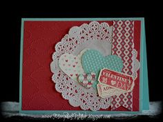 Stampin' Up! Valentine  by Mercedes Weber at Creations by Mercedes: A Valentine