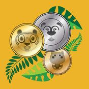 Jungle Coins - learn coin math (for iPad) app icon Teaching Money, Teaching Kids, Managing Money, Kids Learning, Math Fact Fluency, Math 2, Best Educational Apps, Counting Coins, Counting Money