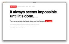 It always seems impossible until it's done. Nelson Mandela - http://macjunky.nl?p=35376  #Apple #Mac #IT #Consultant #Freelance #Repair #Support #Data #Recovery #MacJunky #Amsterdam