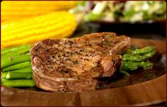 Grilled Thick Cut Pork Chops - Traeger Grill Recipes